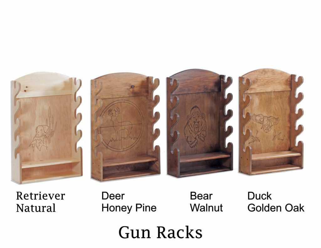 Gun Racks | A&H Woodworking, LLC