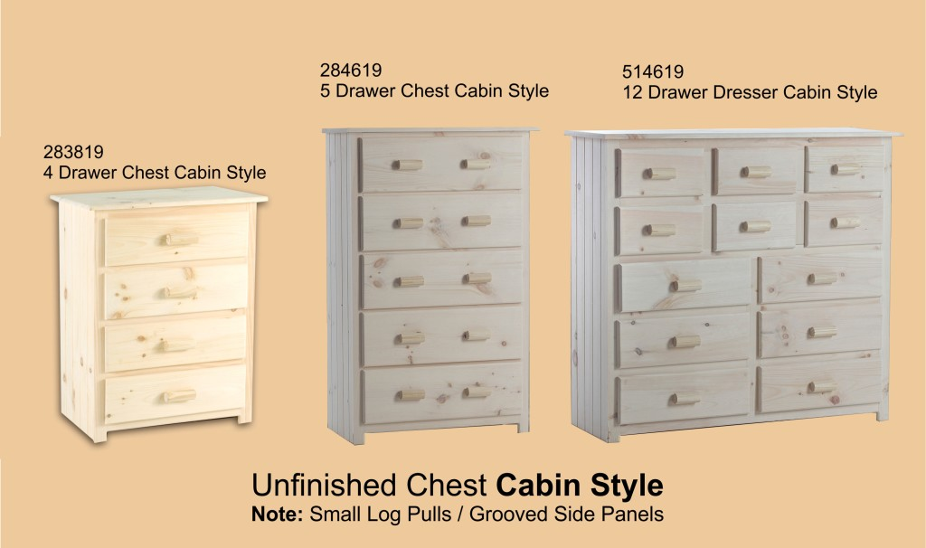 Unfinished Chest Cabin Style Page 5