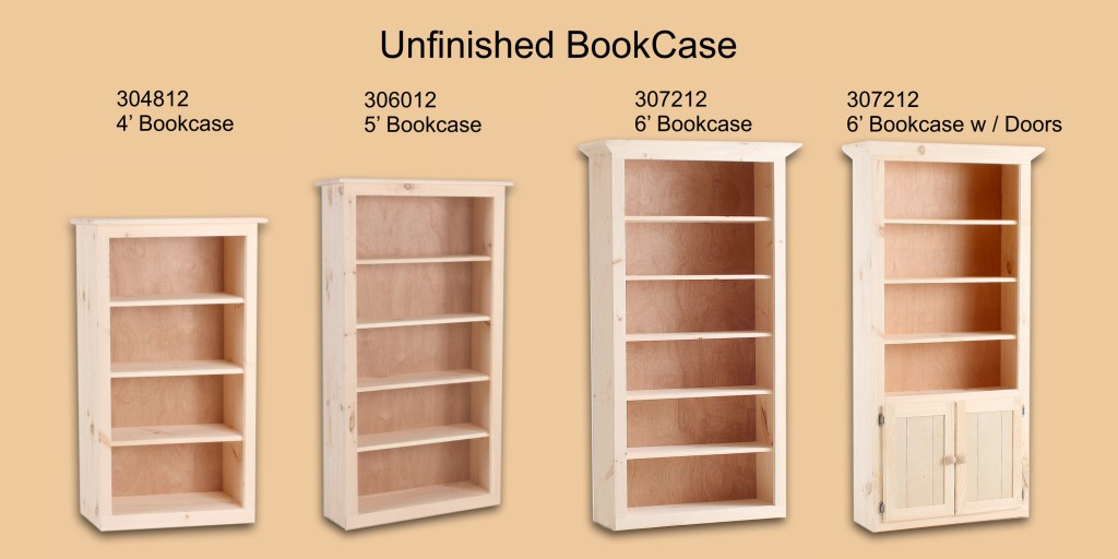 Unfinished Page 10 Bookcase