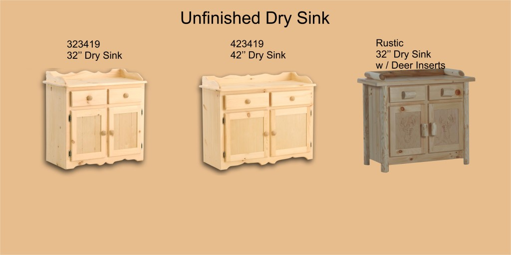Unfinished Page 16 Dry Sink